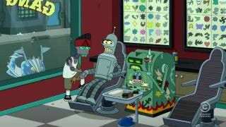 Illustration for article titled Futurama finally shows us Bender's one actual ideal