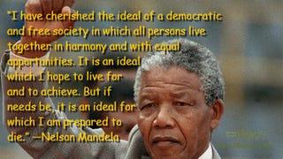 Nelson MandelaTrevor Samson/Getty Images