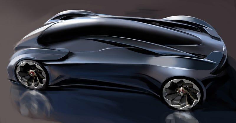 2014 DP-100 design sketch for Gran Turismo