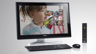 Illustration for article titled Sony L Series AIO Puts Multitouch Shortcuts On the Bezel