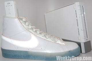 Illustration for article titled Nike's Nintendo Shoe Blitz Continues With Wii Blazers