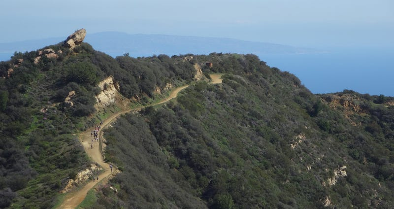 The Backbone Trail just west of Malibu. (Images: National Park Service)