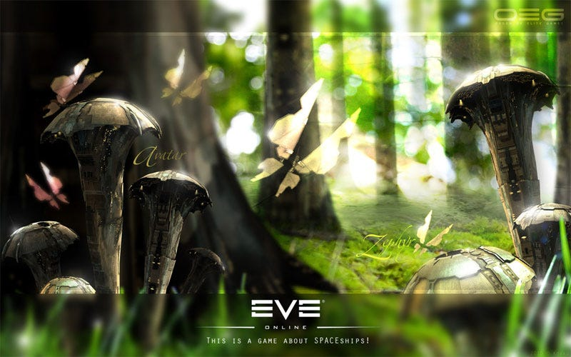 Illustration for article titled EVE Online Invades The Real World In Stunning Images