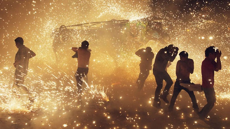 Illustration for article titled Mexico's National Pyrotechnics Festival Looks Absolutely Insane(ly Fun)
