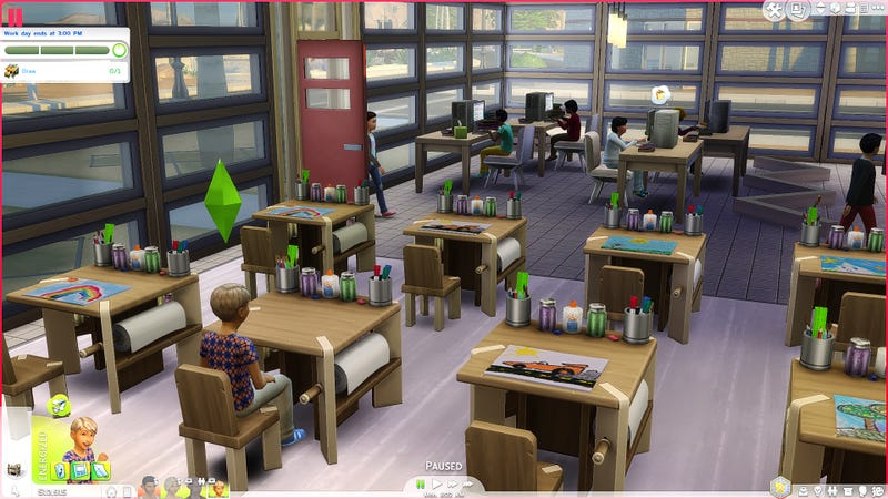 Illustration for article titled Incredible Mod Adds Schools To The Sims 4