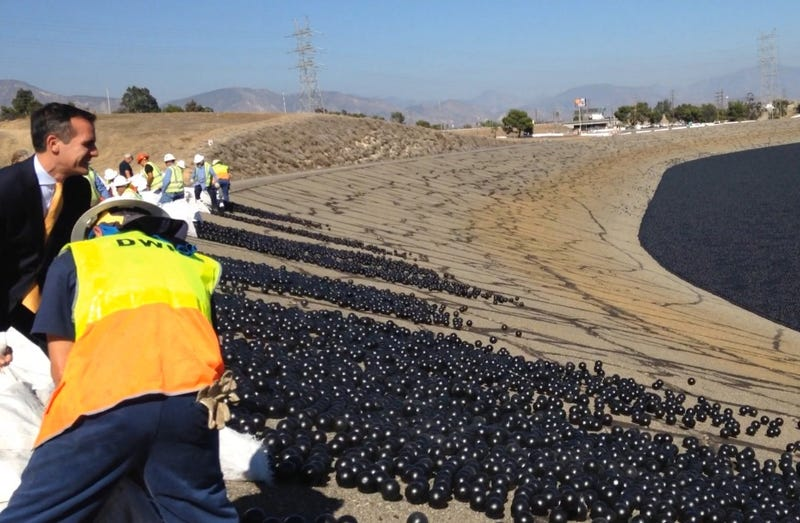 Illustration for article titled LA Dumps Millions of Plastic Balls in City Reservoir to Protect Water