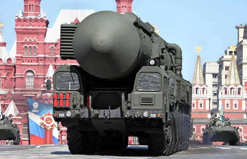 Illustration for article titled Russians Want To Launch An ICBM At A Near-Earth Asteroid And Nuke It In 2036