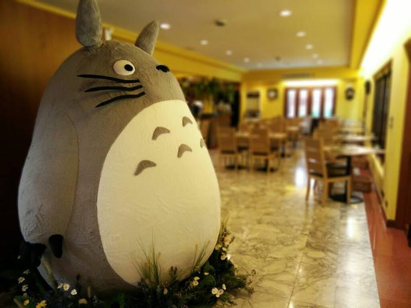 Illustration for article titled Inside The World's First Officially Licensed Totoro Restaurant
