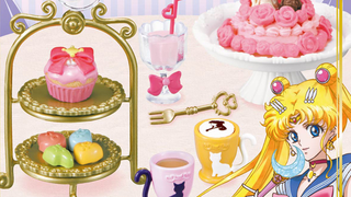 Illustration for article titled Not Content With Branded Real Food, Sailor MoonGets Branded Fake Food