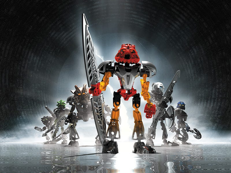 Illustration for article titled Holy crap, Bionicle is coming back