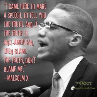 Malcolm X (Frank Scherschel/Getty Images)