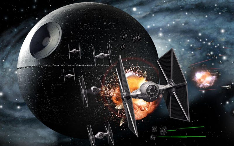 Illustration for article titled Is This The New TIE Fighter FromStar Wars: The Force Awakens?