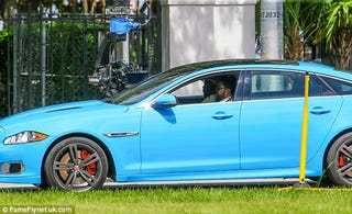 "Jaguar XJR from ""Ride Along 2"""