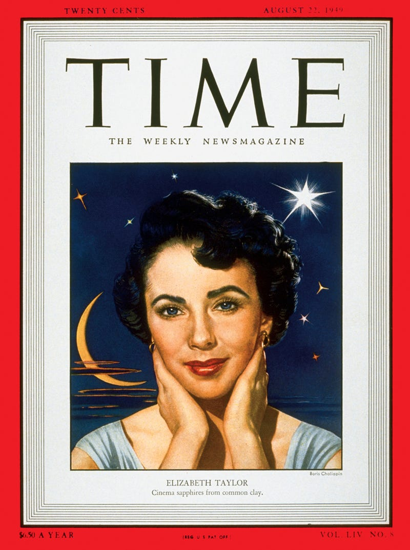 Illustration for article titled A Vintage Profile Of Young Elizabeth Taylor, Circa 1949