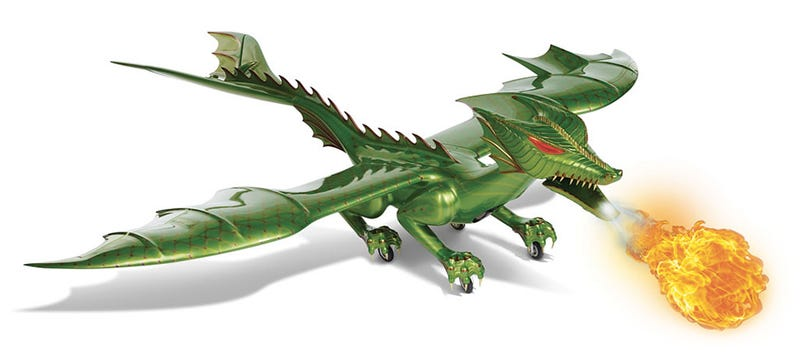 Illustration for article titled You Can Finally Buy That Flying Fire-Breathing RC Dragon (For $60,000)