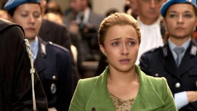 Hayden Panettiere in Lifetime's Amanda Knox: Murder On Trial In Italy