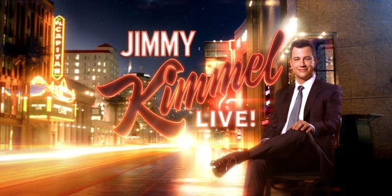 Illustration for article titled Lewis Hamilton will be on Jimmy Kimmel Live tonight