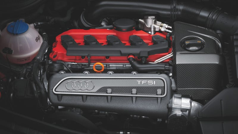 Illustration for article titled Audi's 2.5 TFSI Is Five Cylinders Of Awesome