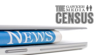Illustration for article titled The 2011 Gawker Media Census Is Not Available in Print. Take It, and Win an iPad 2