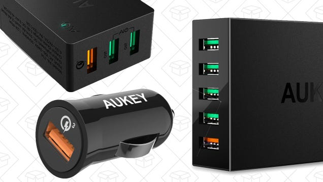 Upgrade to Quick Charge 3.0 With a Trio of Charger Deals