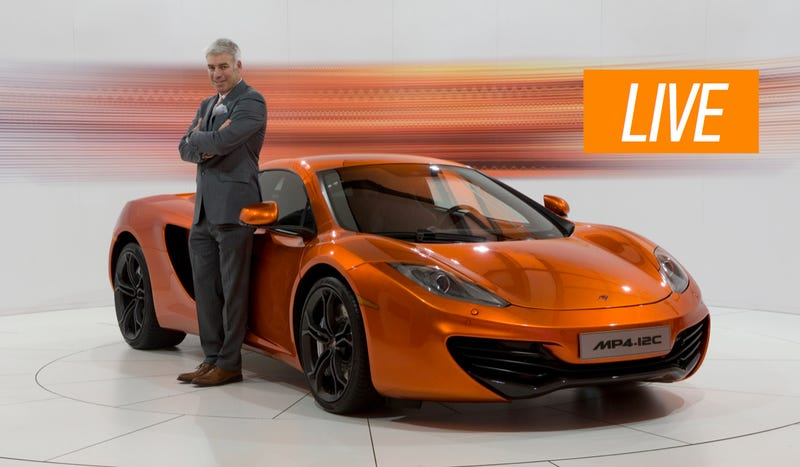 Illustration for article titled Ask McLaren Chief Designer Frank Stephenson Anything You Want