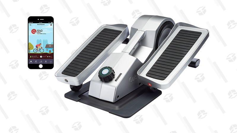 Elíptica Cubii Pro para debajo del escritorio | $249 | Amazon | Solo en plateadoGráfico: Tercius Bufete