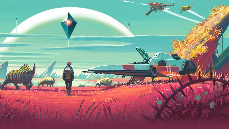 Illustration for article titled El videojuego No Man's Skyretrasa su lanzamiento y su creador recibe amenazas de muerte