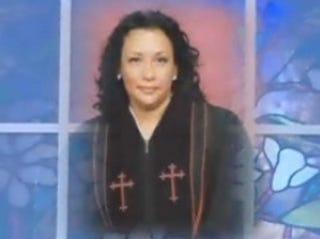 Pastor Sandy McGriff burglarized her friend's home on Christmas Eve.