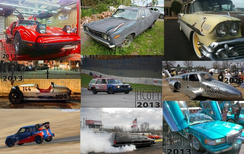 Illustration for article titled Vote now for the 2013 Hooniversal Car of The Year!