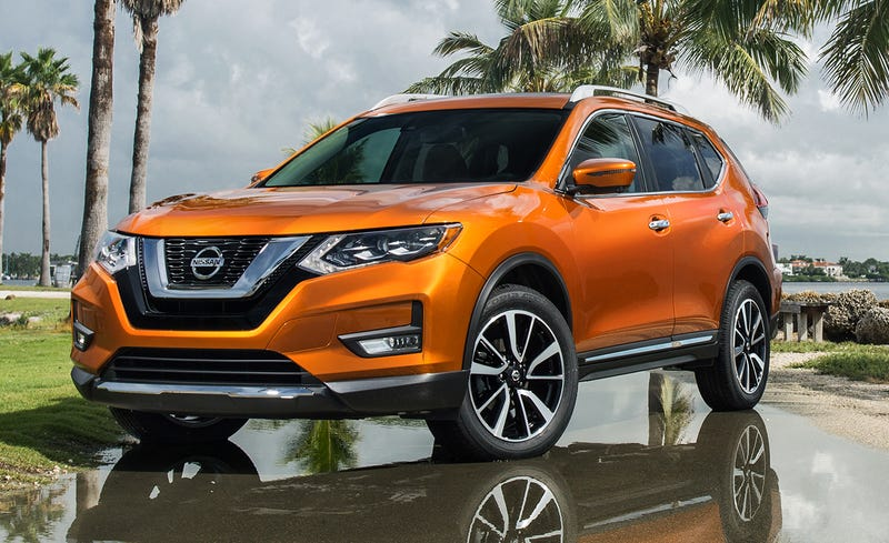 Illustration for article titled Something is wrong with me, because I'm considering a Nissan Rogue Hybrid for my wife