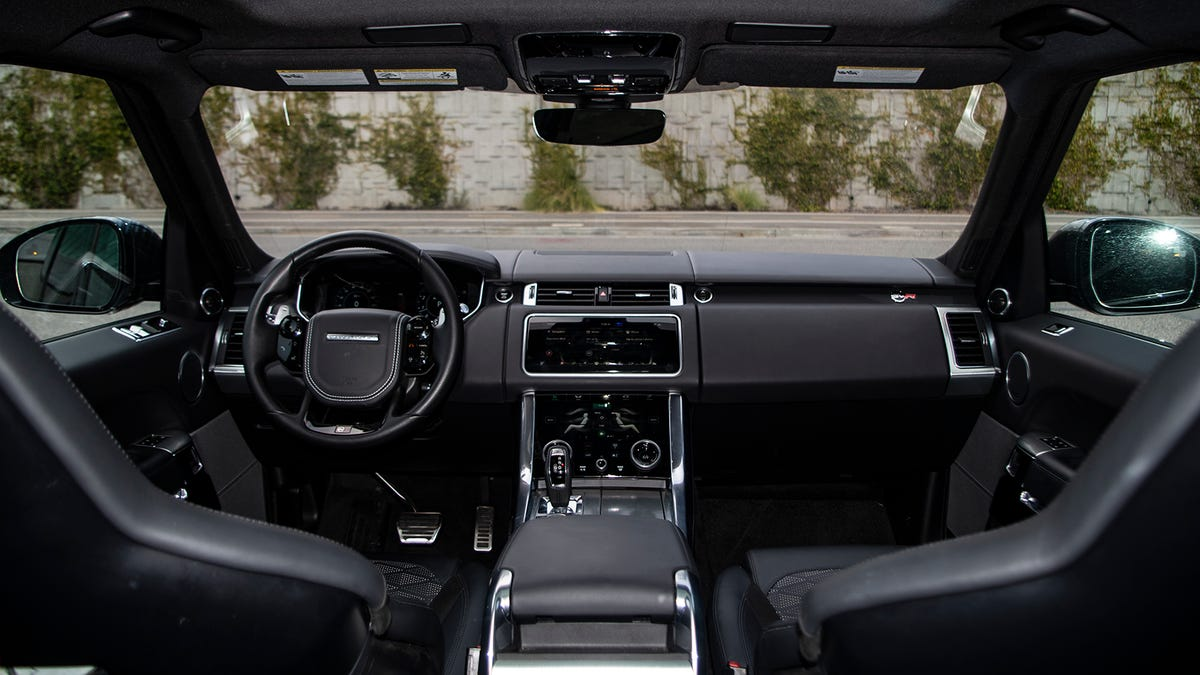 The 2018 Range Rover Sport SVR: Because Fuck You, That's Why