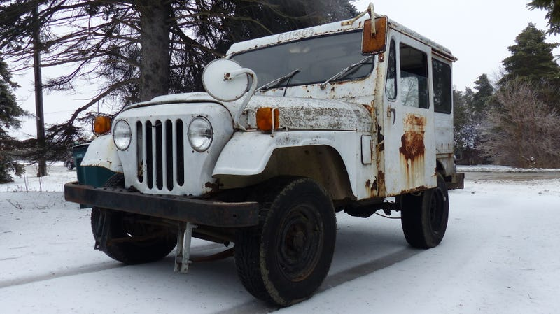 I Drove My $500 Postal Jeep Only a Few Miles but It Was Still ... on jeep postal truck sale, jeep wagoneer wiring diagram, jeep j10 wiring diagram, jeep j20 wiring diagram, jeep mail truck,
