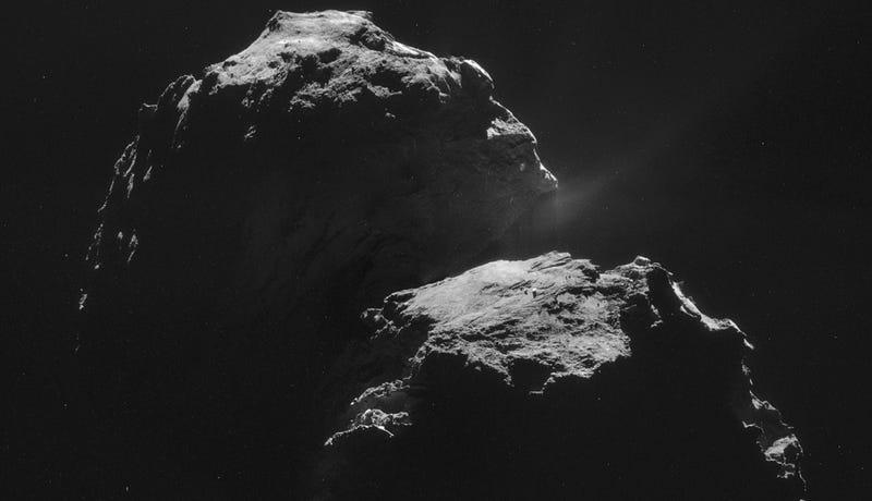 Illustration for article titled Escucha el extraño sonido que produce el cometa 67P