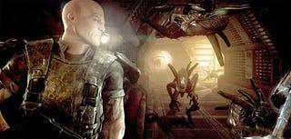 """Illustration for article titled Aliens vs Predator """"Unbanned"""" In Australia"""
