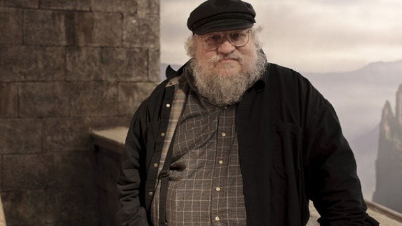 Illustration for article titled George R.R. Martin signs deal to create new shows for HBO, since it's not like there's anything else he should be creating right now