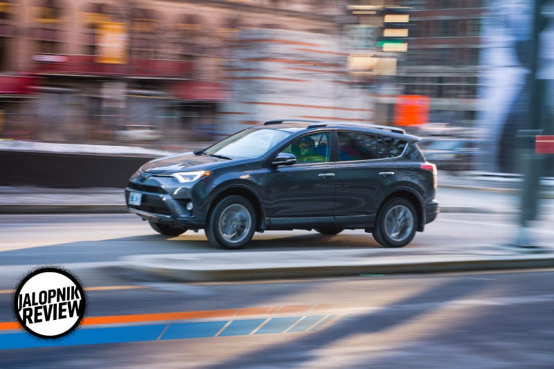 Here S A 2017 Toyota Rav4 Review Because You Re All Ing Crossovers Instead Of Cars
