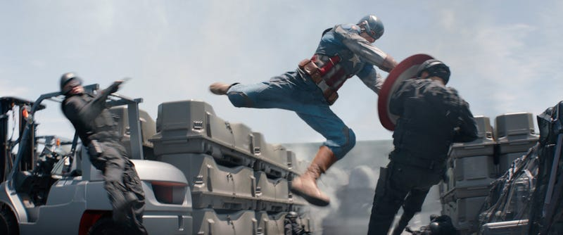 Illustration for article titled Captain America: The Winter Soldier Review: Hard Punches, Light Fun