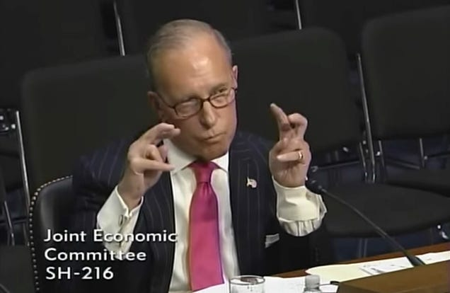 Larry Kudlow, Trump s Likely Pick For Economics Advisor, Is Really Bad at Predictions