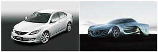 Illustration for article titled Mazda Announces Beijing Motor Show Lineup Including Taiki Concept, Mazda6
