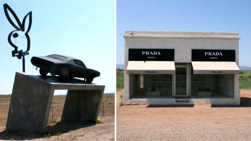 Illustration for article titled Stupid Playboy Marfa Attraction May Kill Awesome Prada Marfa