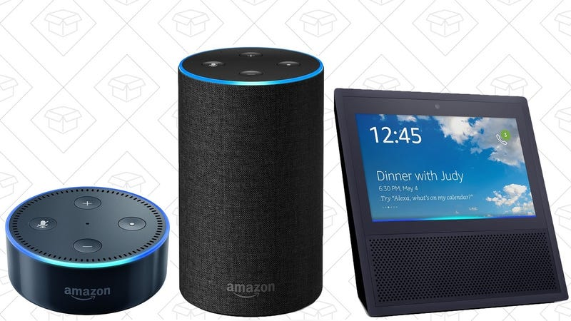 Echo Dot   $30   AmazonEcho   $80   AmazonEcho Show 2-Pack   $310   Amazon   Add two to cart to see discount