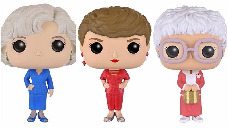 Rose, Blanche, and Sophia