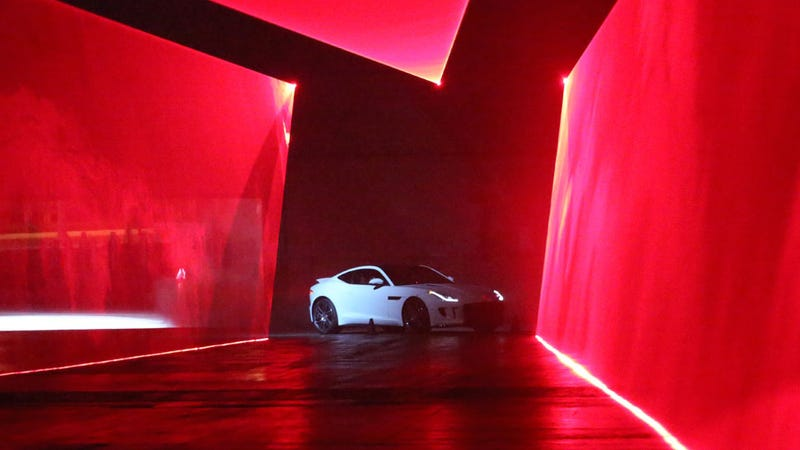 Illustration for article titled The Jaguar F-Type Coupe Makes Me Ache Deep Inside In A Good Way