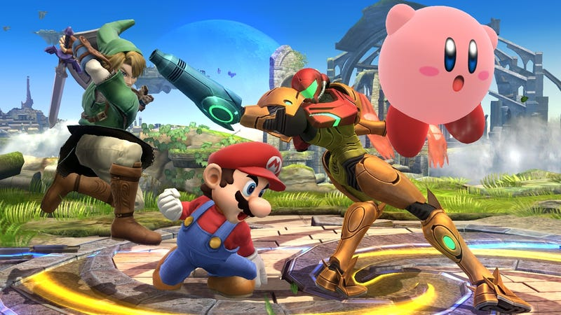 Illustration for article titled The Most Powerful Hit In Smash Bros. Requires Four People