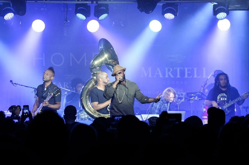 The Roots perform during a Martell Cognac-sponsored concert in Washington, D.C., on Nov. 5, 2016. Kris Connor/Getty Images for Pernod Ricard