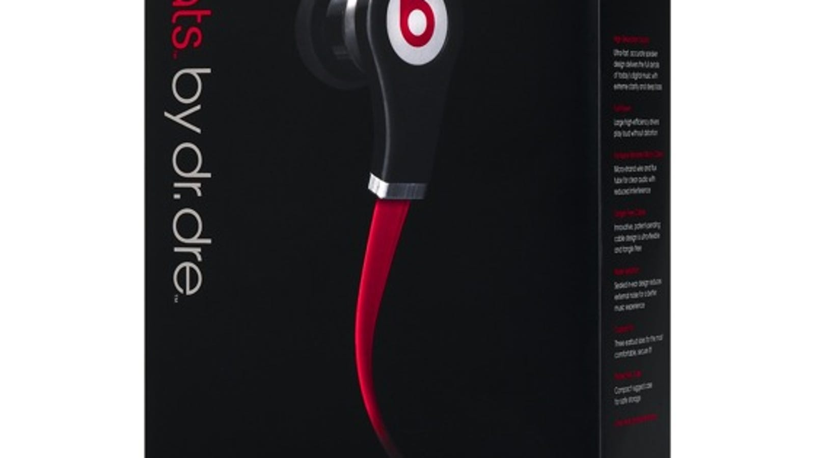 earbuds accessories - Dr. Dre and Monster Put $150 In Your Ear With Beats Tour Headphones