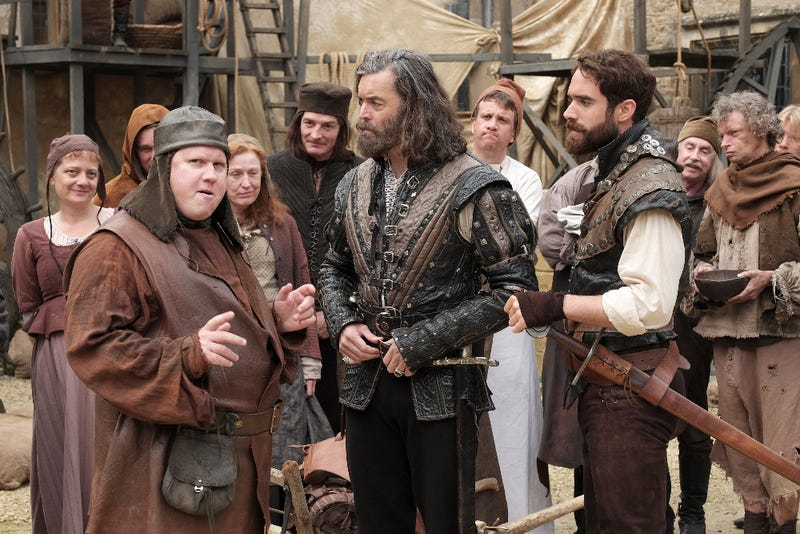 Illustration for article titled Galavant Is Way More Fun When It's About Bromance, Not Romance