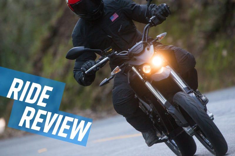 Illustration pour l'article intitulé Ride Review: les motos électriques Zero FXS et DSR Prove continuent de s'améliorer