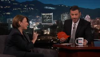 Senator Amy Klobuchar, Jimmy Kimmel