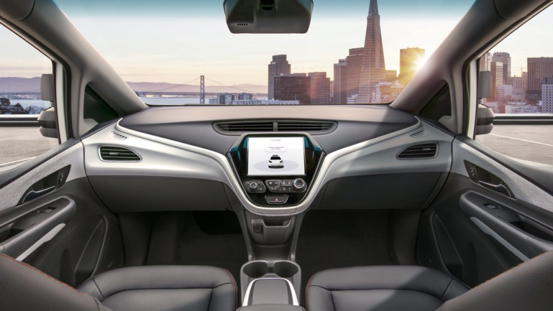 GM's driverless Bolt car set to hit the streets in 2019